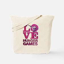 Love Hunger Games Tote Bag
