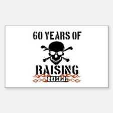 60 years of raising hell Decal