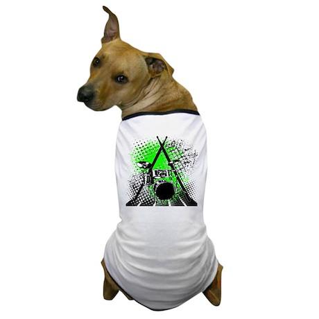 Drums & Sticks Dog T-Shirt