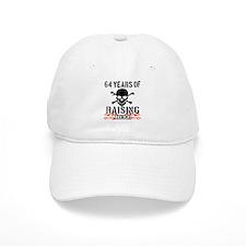 64 years of raising hell Baseball Cap