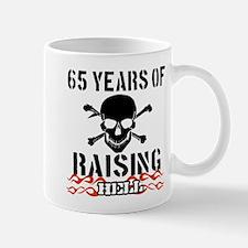 65 years of raising hell Mug