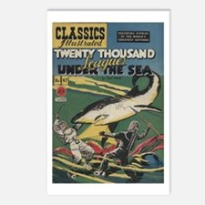 20,000 Leagues Under the Sea Postcards (Package of