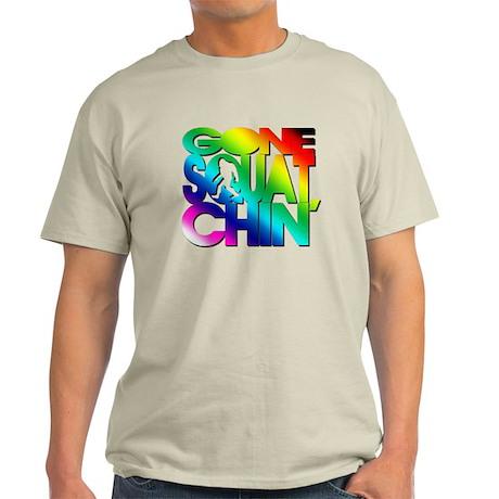 Gone Squatchin' Light T-Shirt