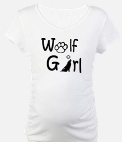 Unique Wolf girl Shirt