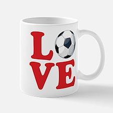 Love Soccer Mug