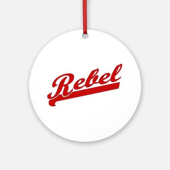 Rebel Ornament (Round)