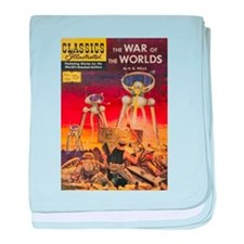 The War of the Worlds baby blanket