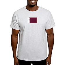 Qatar Ash Grey T-Shirt