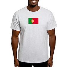 Portugal Ash Grey T-Shirt