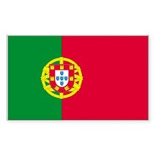 Portugal Rectangle Decal