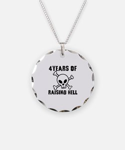 4 Years of Raising Hell Necklace