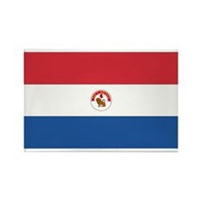 Paraguay Rectangle Magnet