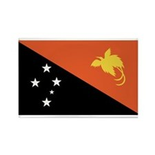 Papua New Guinea Rectangle Magnet