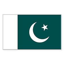 Pakistan Rectangle Decal