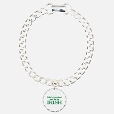 IRISH Charm Bracelet, One Charm