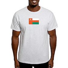 Oman Ash Grey T-Shirt