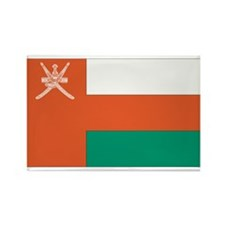 Oman Rectangle Magnet