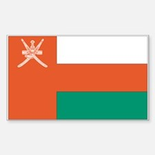 Oman Rectangle Decal