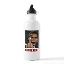 DISASTER AHEAD Water Bottle
