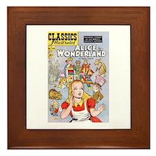 Alice's Adventures in Wonderland Framed Tile