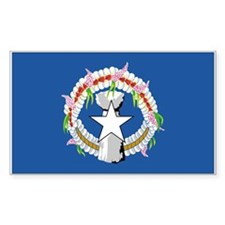Northern Marianas Rectangle Decal
