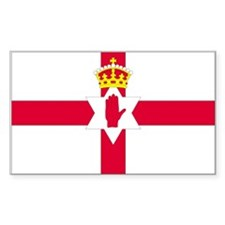 Northern Ireland Rectangle Decal