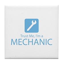 Trust Me Mechanic Tile Coaster