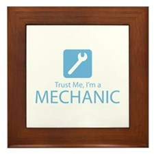 Trust Me Mechanic Framed Tile