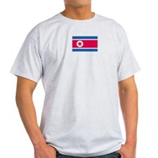 North Korea Ash Grey T-Shirt