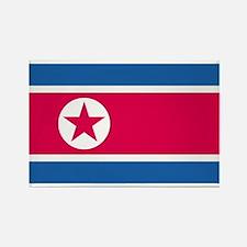 North Korea Rectangle Magnet