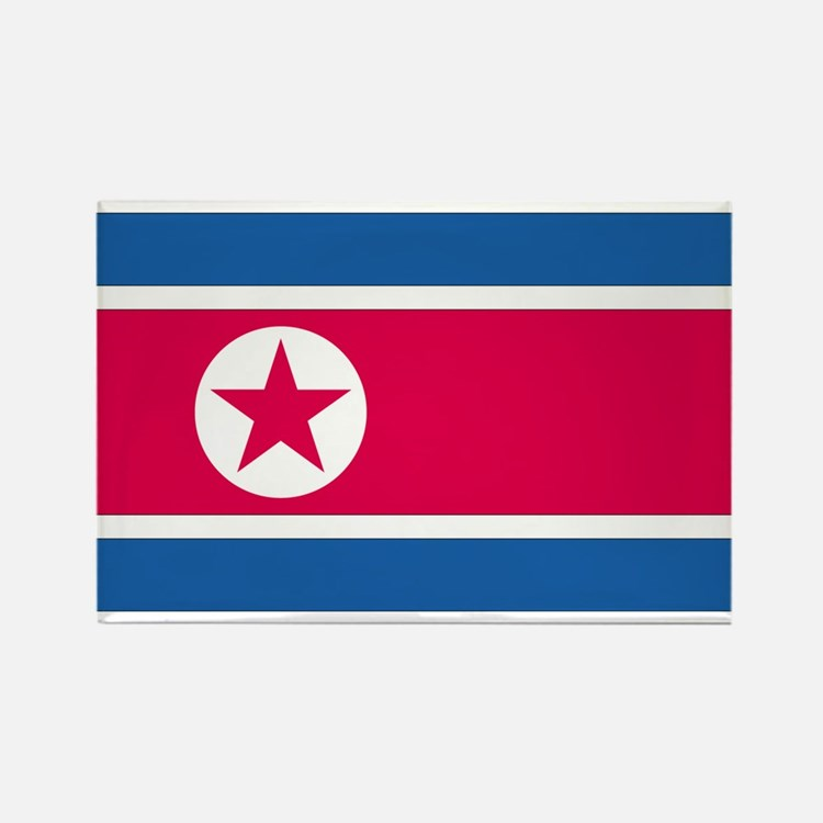 North Korea Rectangle Magnet