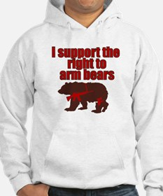 Right to arm bears Hoodie
