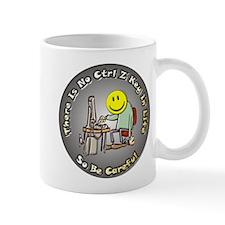 No Ctrl Z Key Mug
