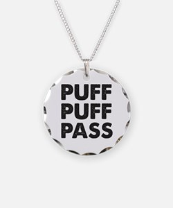 PUFF PUFF PASS Necklace