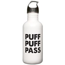PUFF PUFF PASS Sports Water Bottle