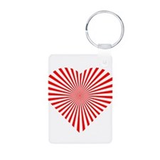 Heart Illusion Keychains