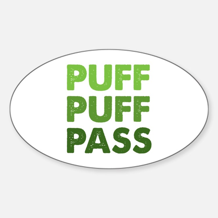 PUFF PUFF PASS Decal
