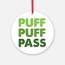 PUFF PUFF PASS Ornament (Round)