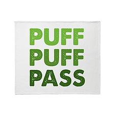PUFF PUFF PASS Throw Blanket