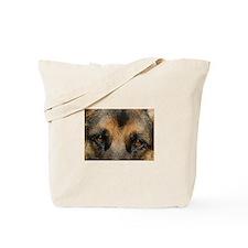 German Shepherd Eyes Tote Bag