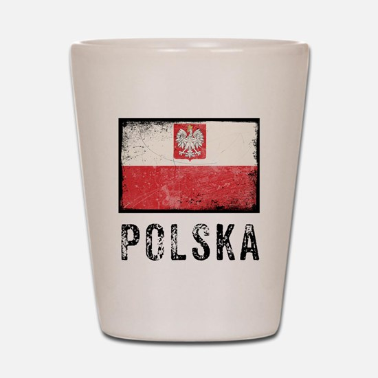 Grunge Polska Shot Glass