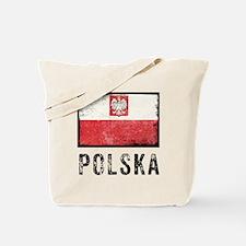 Grunge Polska Tote Bag