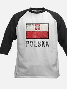 Grunge Polska Kids Baseball Jersey