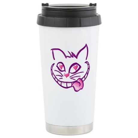 Mad Love Cheshire Stainless Steel Travel Mug