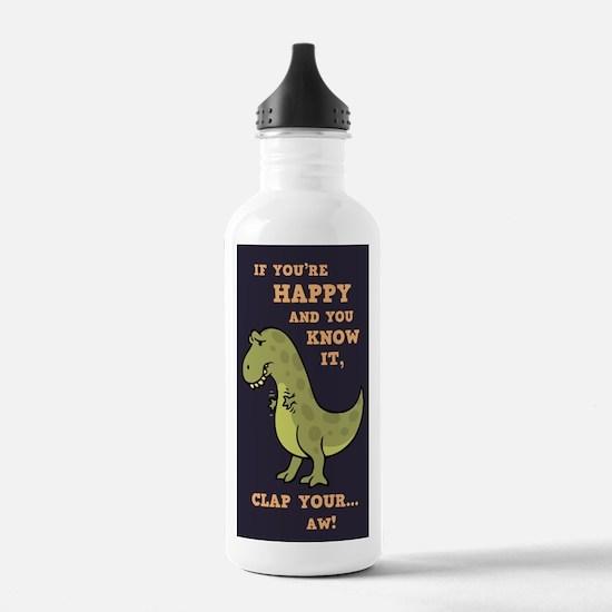 T-Rex Clap Ii Water Bottle