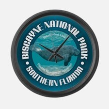 Biscayne National Park Large Wall Clock