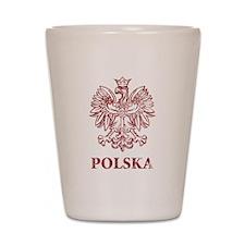 Vintage Polska Shot Glass