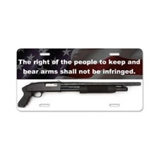 2nd Amendment - Mossberg 500 - License Plate