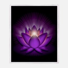 "Violet ""Crown"" Chakra Lotus Stadium Bla"
