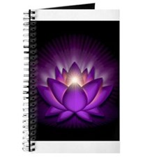 "Violet ""Crown"" Chakra Lotus Journal"